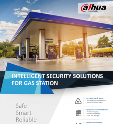 dahua intelligent security solutions for gas station