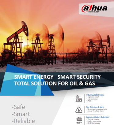 dahua smart energy smart security total solution for oil gas